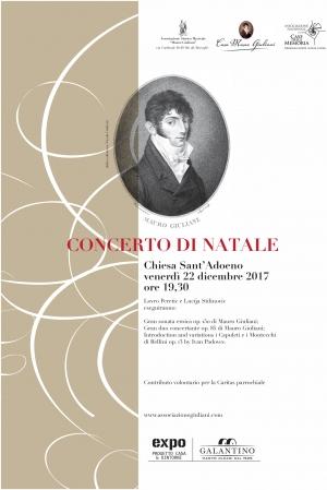 Concerto di Natale Casa Museo Giuliani